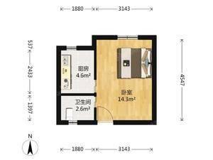 洛川东路400弄 1室1厅1卫