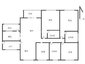 岸芷汀兰 5室2厅3卫