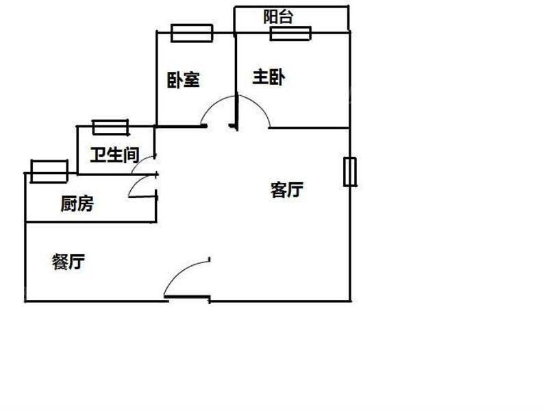 8号线杨思地铁口,银马苑,高区景观房 户型图