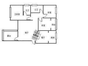 江南苑(花溪区) 3室2厅1卫