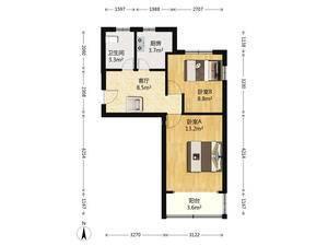 辰丰苑 2室1厅1卫
