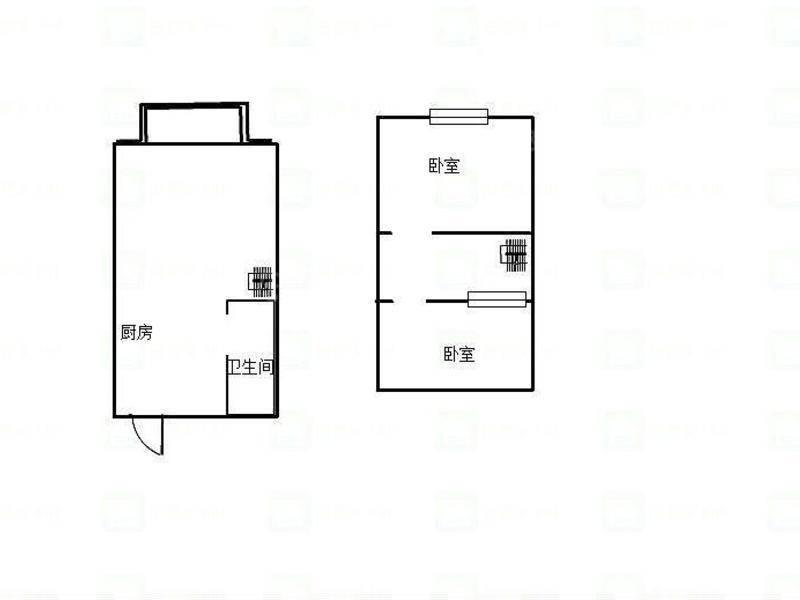 金象城 2居 户型图