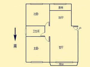 建工天峰公寓 2室2厅1卫