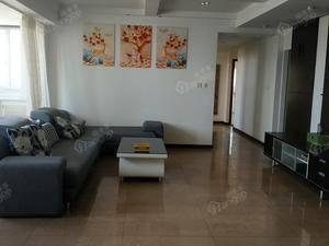 江滨一线江景房顺锦商厦175平,东边间高层,超大客厅
