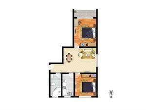 志业公寓 2室2厅1卫