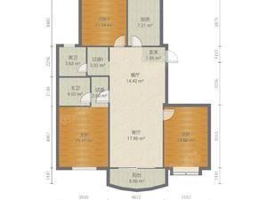 东方晶华园 3室2厅2卫