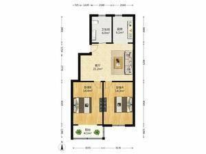 南方新村 2室2厅1卫
