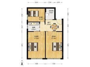 复元坊 3室1厅1卫