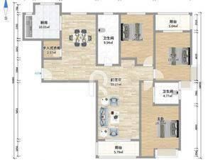 黄浦新苑(公寓) 3室2厅2卫