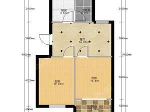 清馨苑 2室1厅1卫