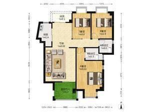 天心岛 3室2厅2卫