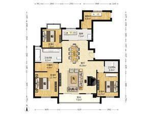 绿地海珀黄浦 3室2厅2卫