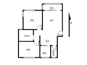 祥和星宇花园(公寓) 2室2厅1卫