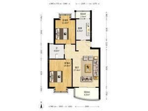 兰馨雅苑 2室1厅1卫
