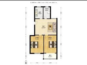 紫竹苑 2室1厅1卫