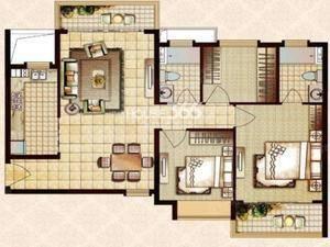 恒大帝景 3室2厅2卫