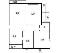 名仕世家花苑 2室2厅1卫