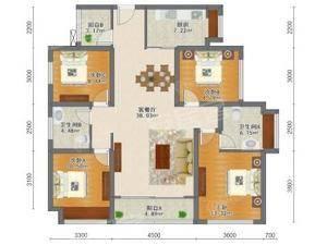 北辰商寓 4室2厅2卫