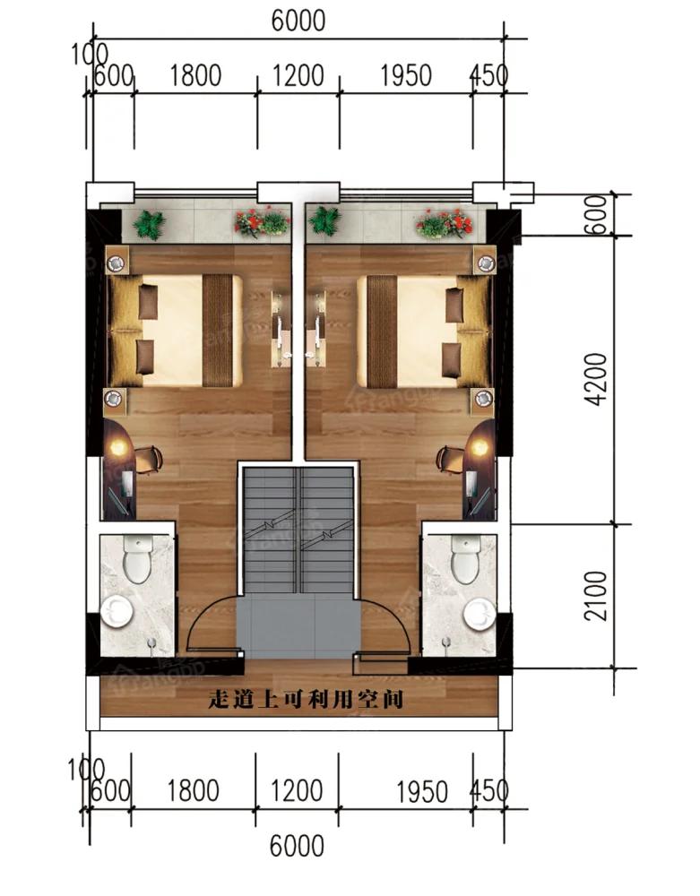 凉都名郡4室4卫户型图