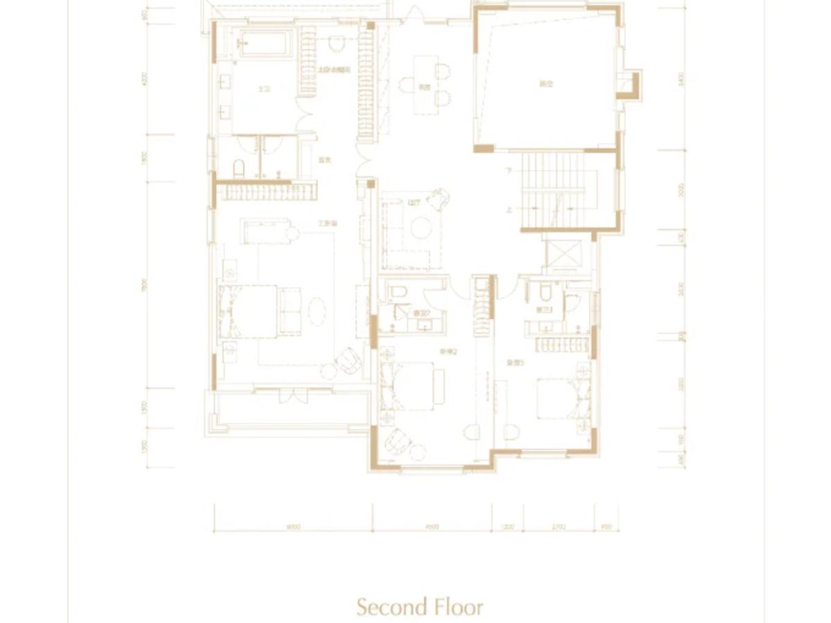 北京壹号庄园5室7厅4卫户型图