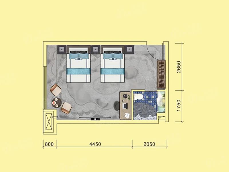 紫金城紫金广场户型图