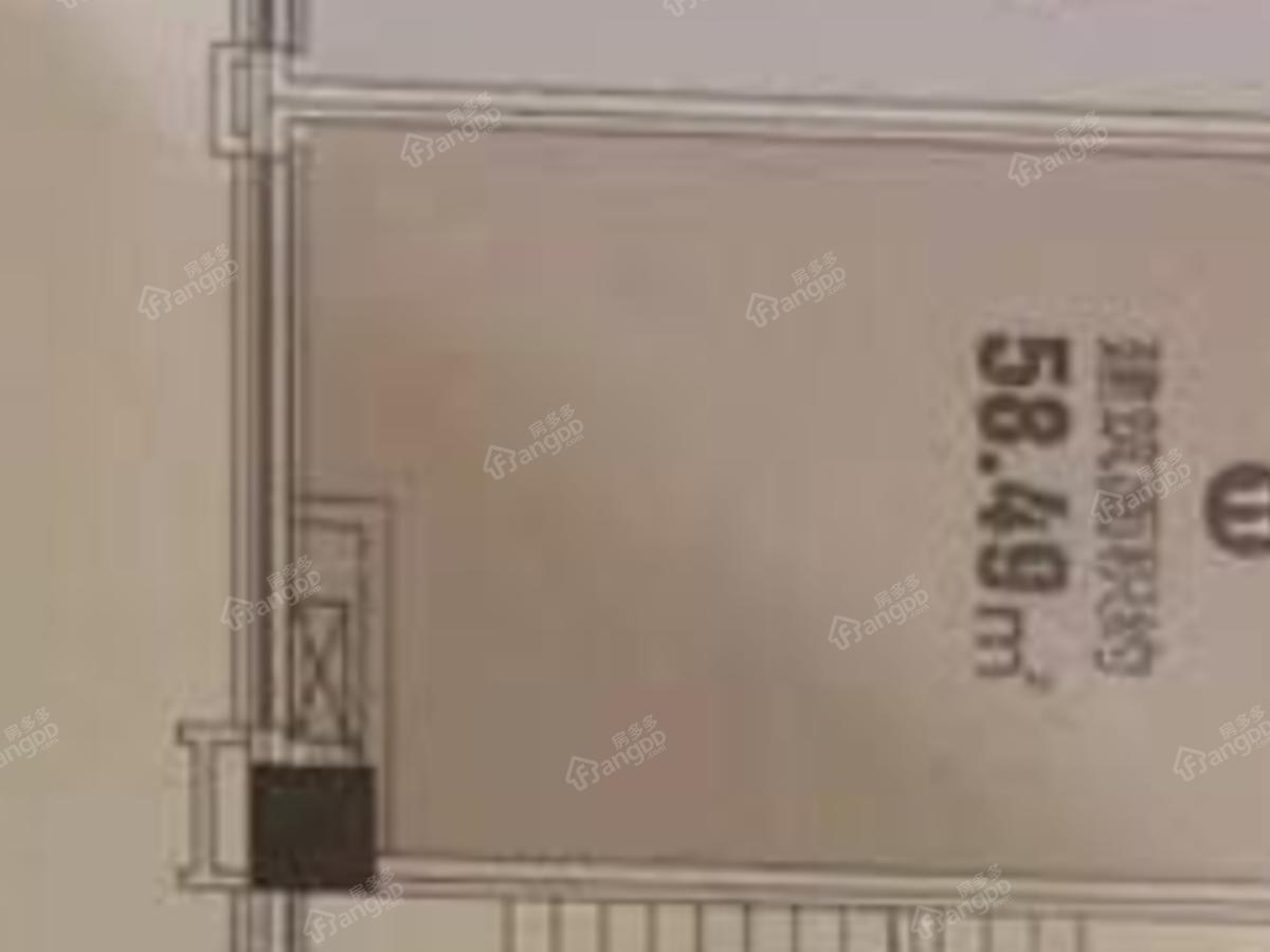 锦汇城1室1厅1卫户型图