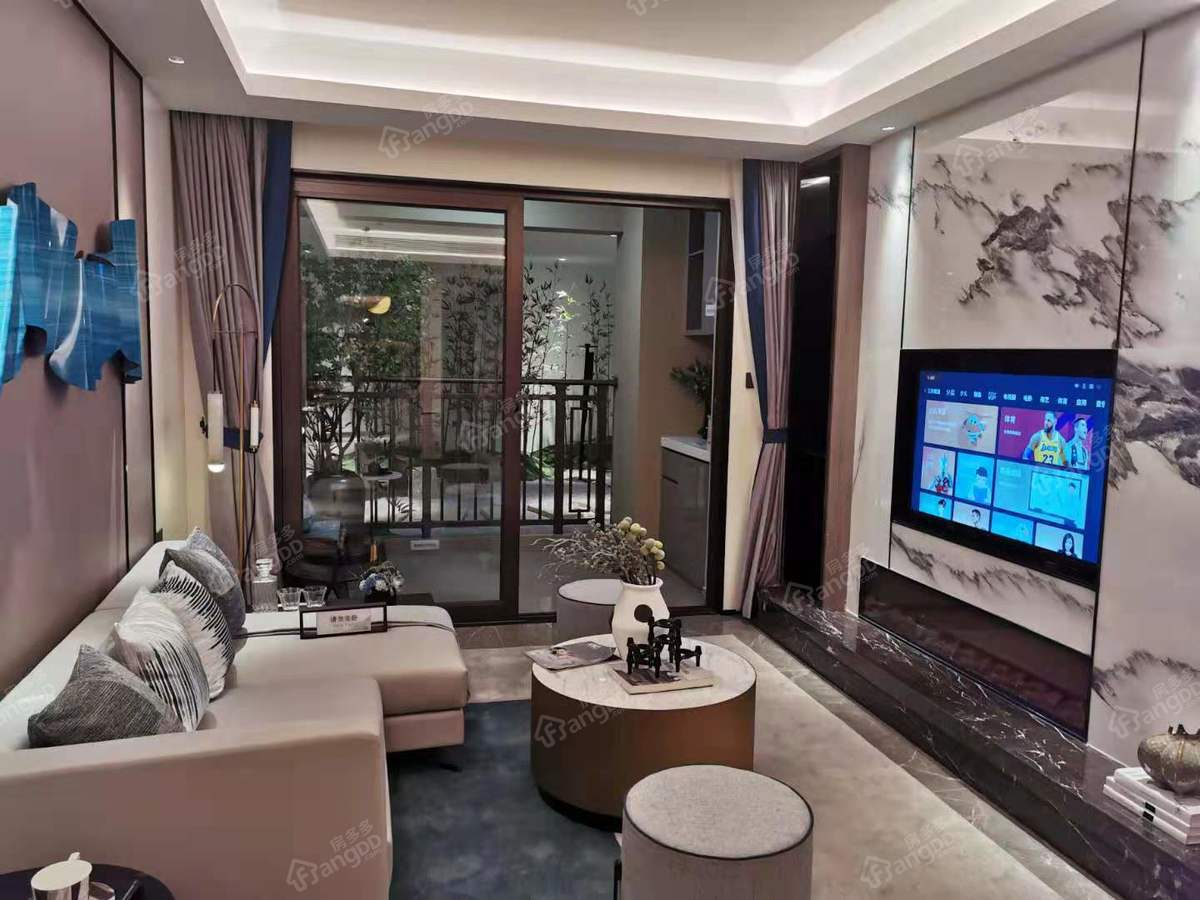 新城·金樾江南3室2厅2卫户型图