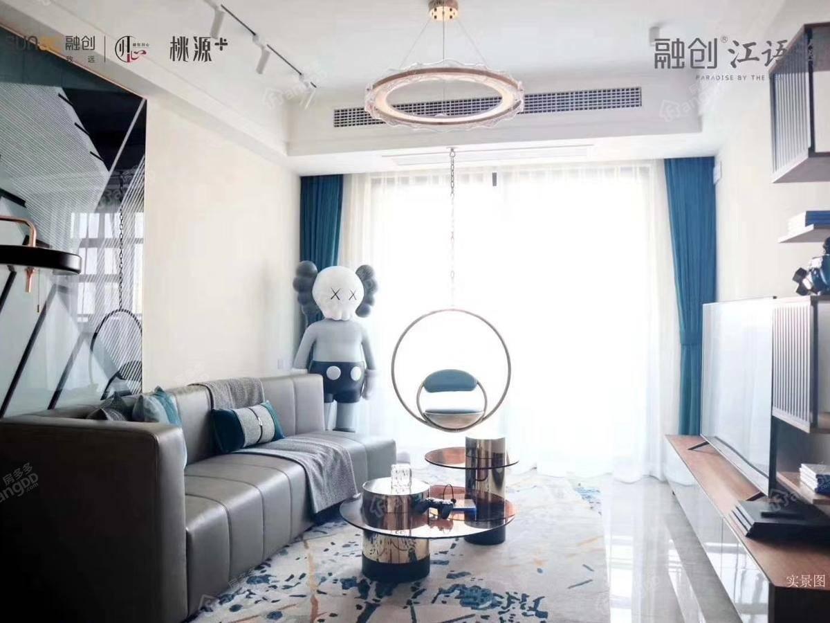 融创江语海3室2厅1卫户型图
