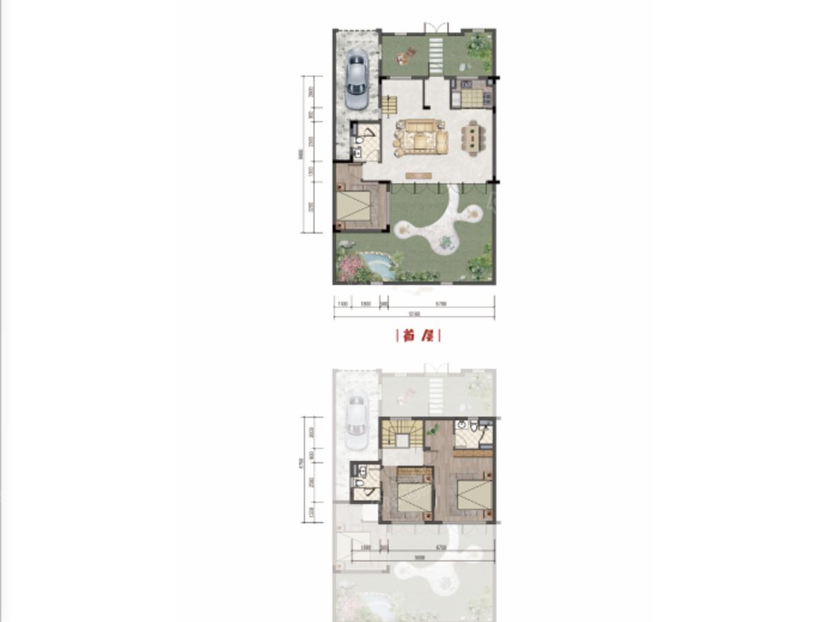 家和十里桃源3室2厅3卫户型图