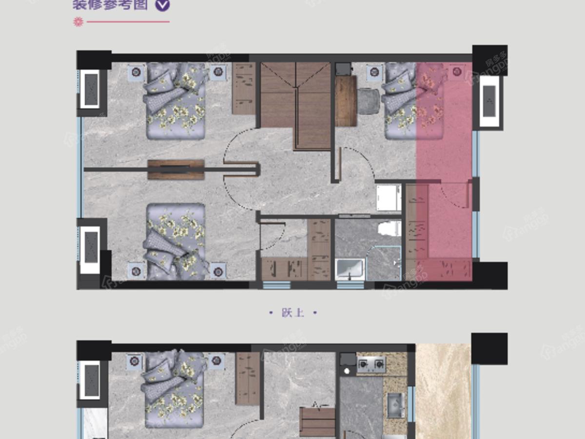 凤翔·凡悦公馆3室2厅3卫户型图