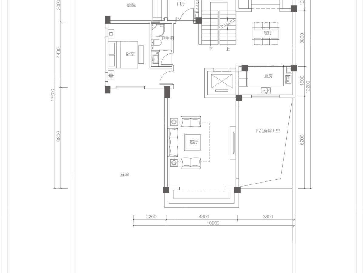 金裕星河丹堤4室3厅3卫户型图