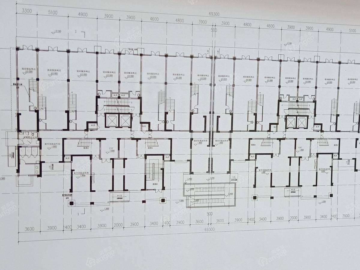 紫金御景1厅户型图