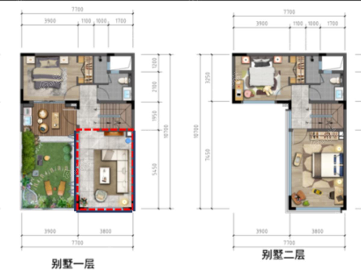 天泰·大理十畝6室3厅4卫户型图