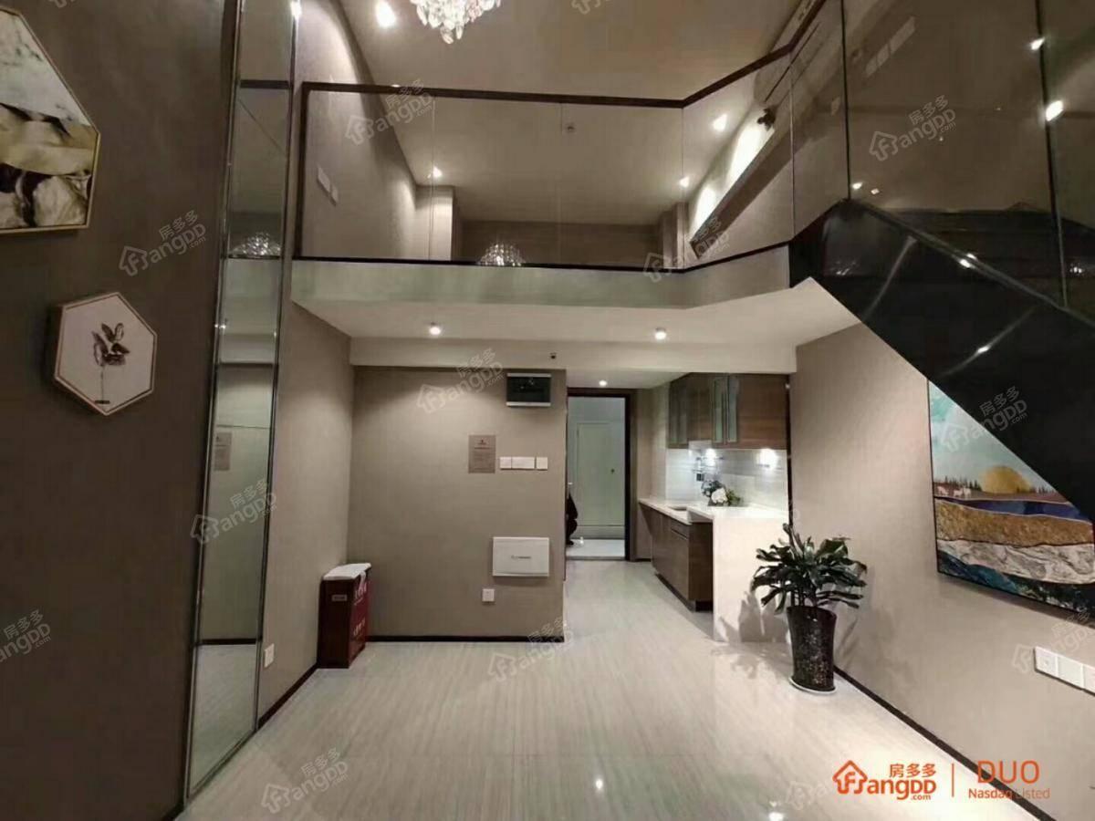 恒大翡翠华庭1室1厅1卫户型图