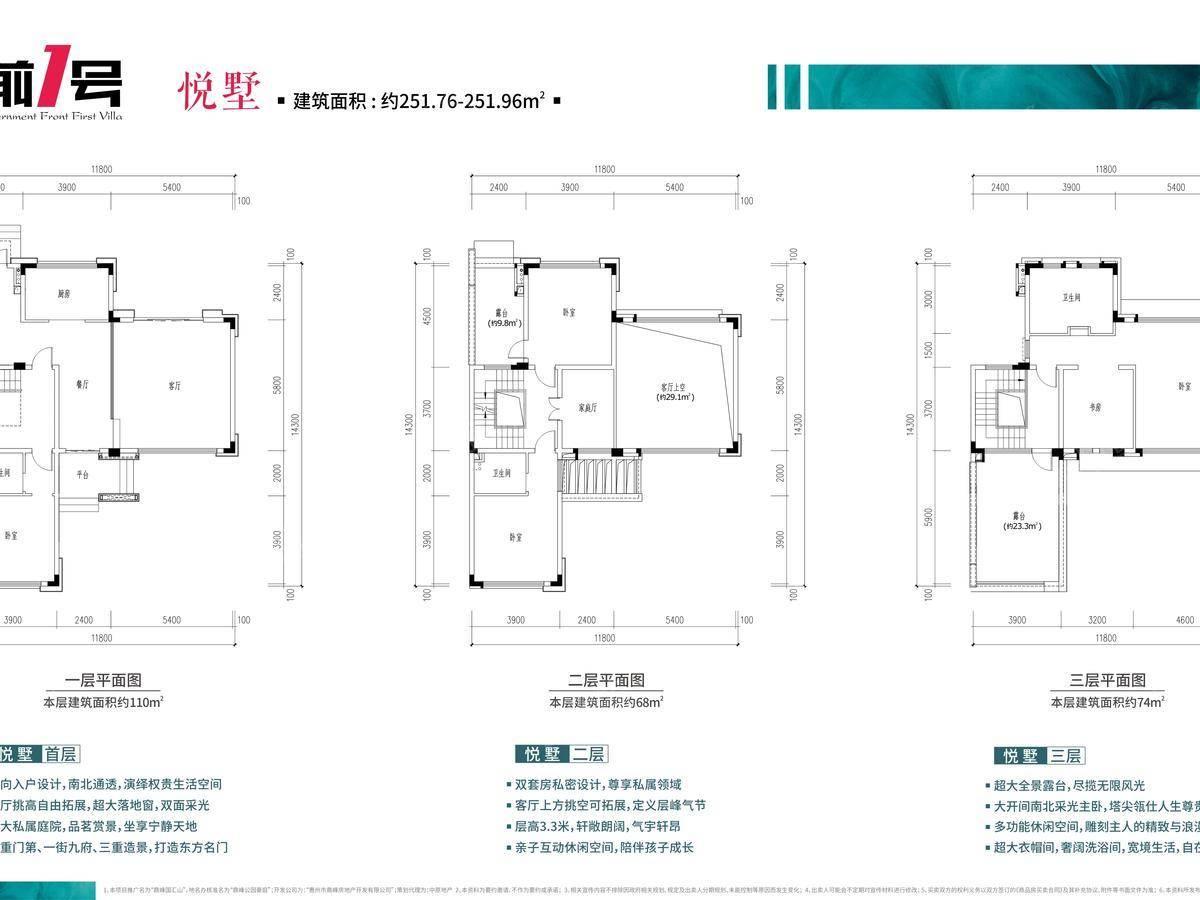 鼎峰国汇山6室3厅4卫户型图