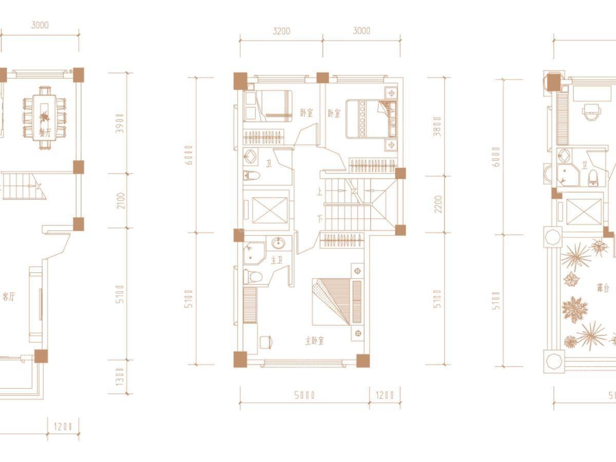 广隆御海尊邸5室2厅4卫户型图